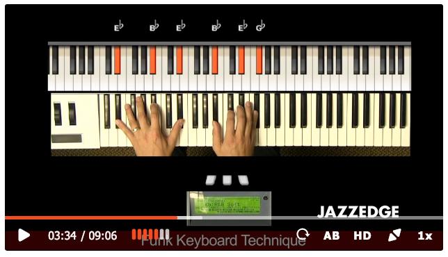 funk lesson videos are high def
